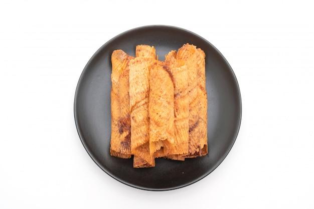 Crispy dried squid rolls