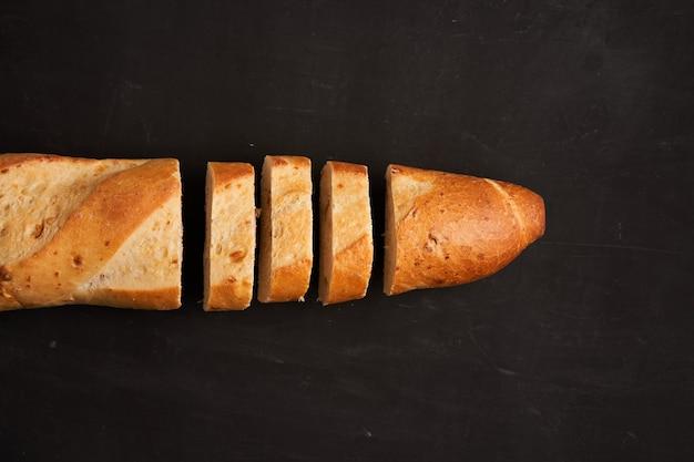 Crispy french baguettes
