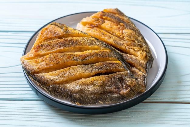 Crispy gouramy fish