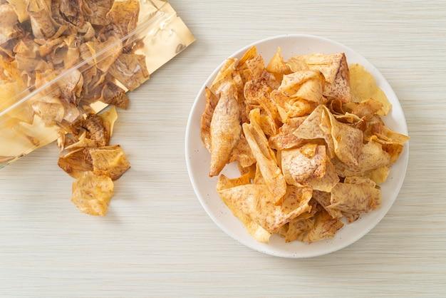 サトイモのポテトチップス-ヘルシースナック