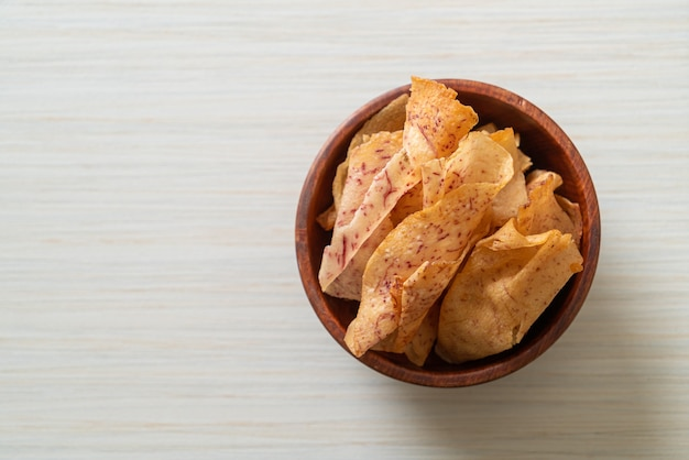 Хрустящие чипсы таро