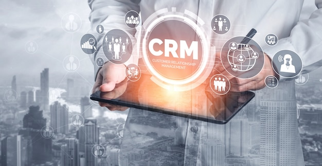 비즈니스 영업 마케팅 시스템 개념에 대한 crm 고객 관계 관리