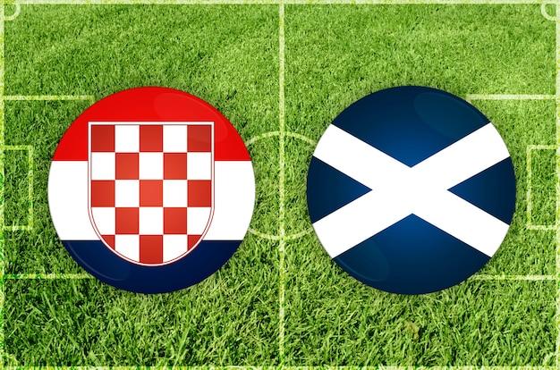 Хорватия - шотландия футбольный матч