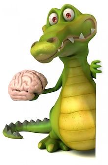 Крокодиловая анимация