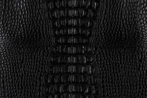 Crocodile textured smooth leather surface background, medium grain