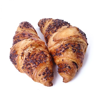 Croissants on the table
