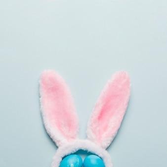 Уши кроликов и яйца