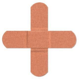 Cross bandages  orange