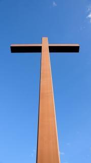 Cross, blue