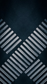 Crossing lanes of two pedestrian crossings at the crossroads in the city  aerial top view shot an em...