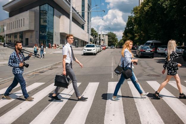 Образ жизни пешеходного перехода