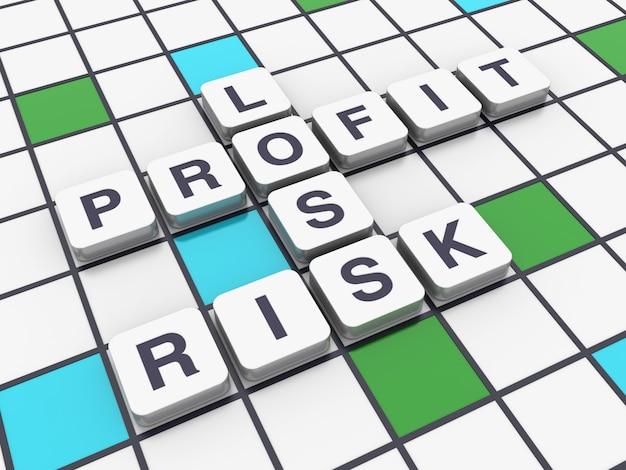Кроссворд риск потеря прибыли