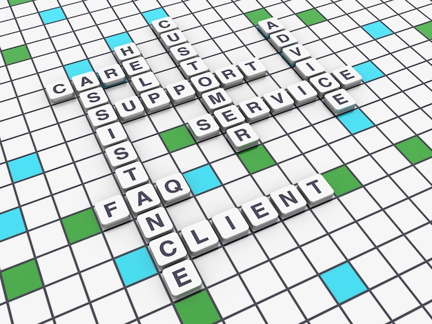 Crossword support concepts