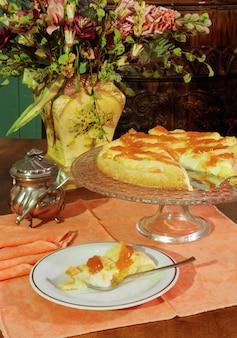Итальянский торт crostata tart