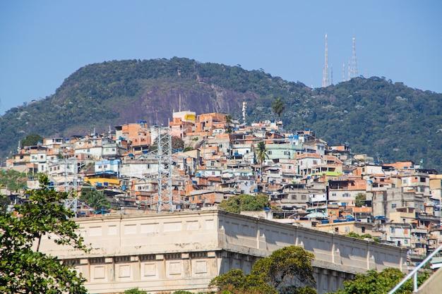 Crown hill located in the catumbi neighborhood of rio de janeiro.