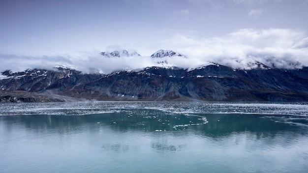 クルーズ、セーリング、アラスカ、グレイシャーベイ、国立公園