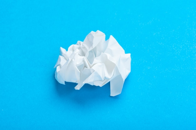 Crumple paper ball