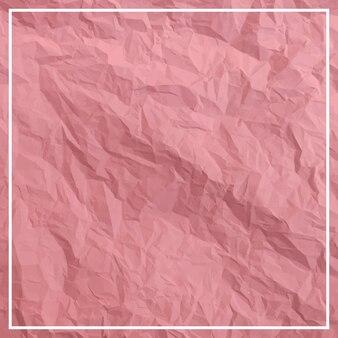 Мятой ярко-красной бумаги фоновой текстуры
