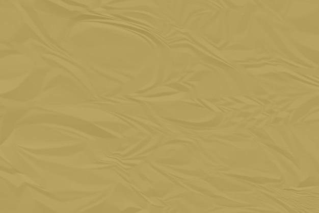 しわくちゃの茶色の紙の背景をクローズアップ