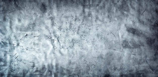Crumpled metal background, texture of damaged stainless steel or aluminum (website head)