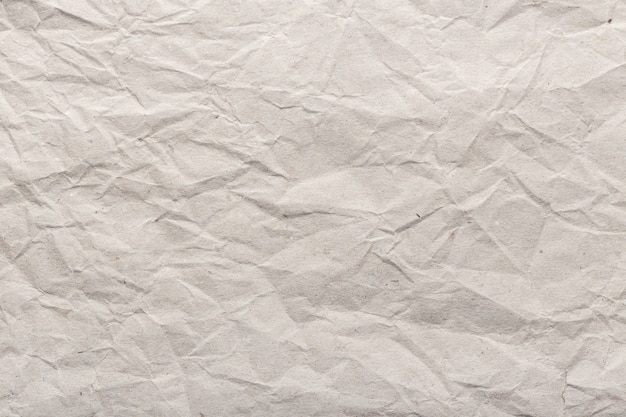 Crumpled paper background texture. brown paper background