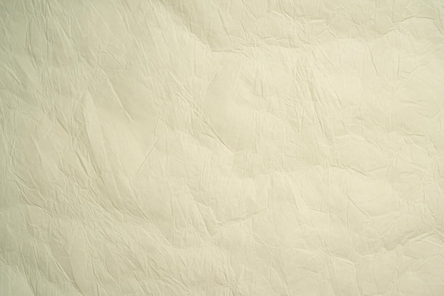 Crumpled paper green color background design
