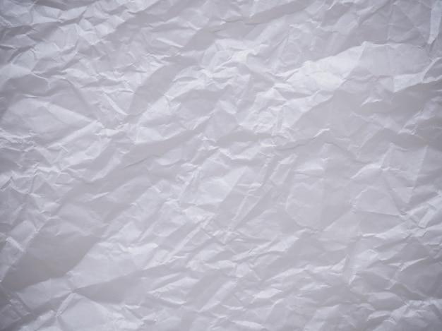 しわくちゃの紙のテクスチャ壁