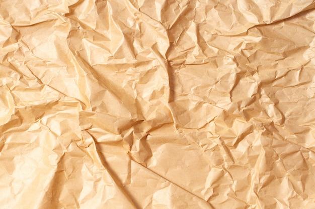 Мятой переработанной коричневой бумаги фон