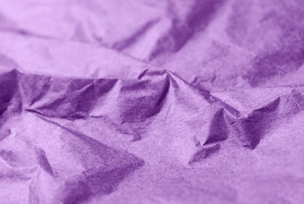Мятой бумаги фиолетовый текстуры абстрактный фон