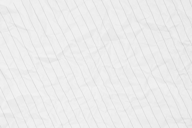 Crumpled of a white paper texture - background
