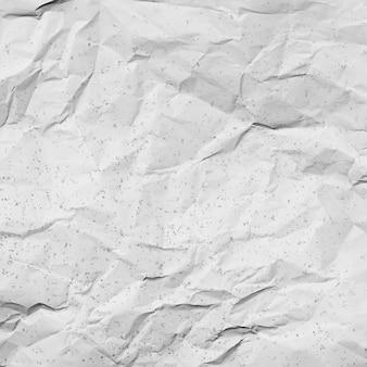 しわくちゃの白い紙の質感