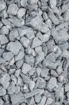 Щебень серый камень на текстуру земли