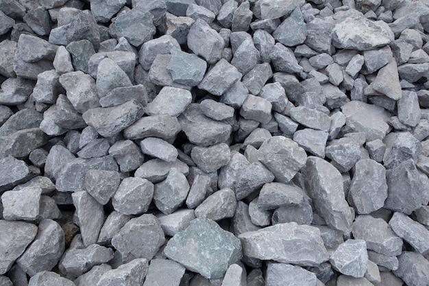 Crushed stone construction materials