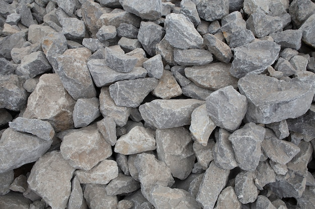 Crushed stone texture. crushed stone construction materials.