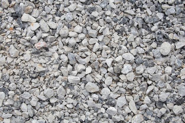 Crushed  stone texured background.