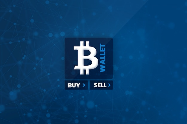 Cryptocurrency bitcoin buy sell wallet photo