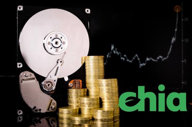Криптовалюта chia и сервер жесткого диска для майнинга