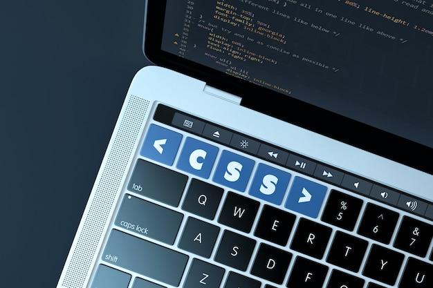 Css. web development concept