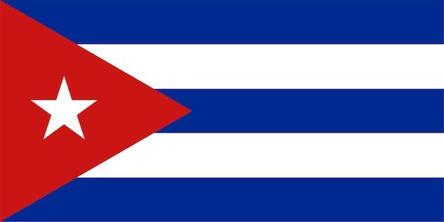 쿠바의 쿠바 국기