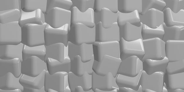 큐브 추상 배경 3d 그림