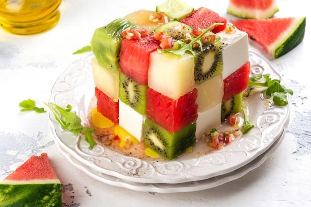 キューブフルーツサラダ