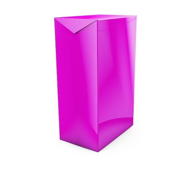 Куб на фоне студии стены. 3d рендеринг