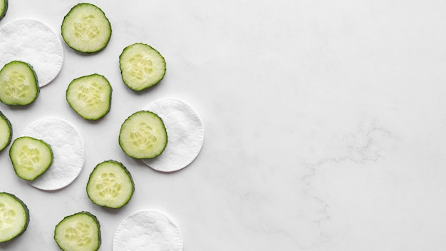 Cucumber and cleansing disks