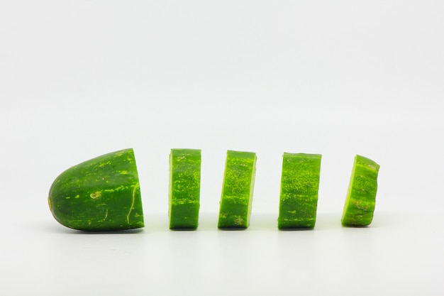 Cucumber isolated object