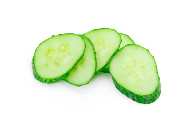 Cucumber isolated
