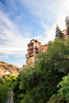 Cuenca spain city of hanging houses is an unesco heritage medieval historic place