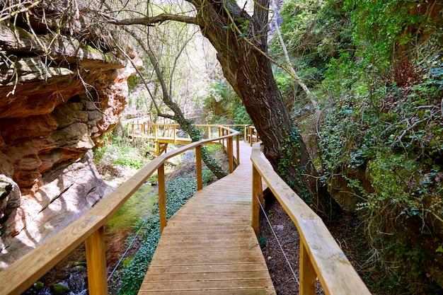 Куэнка вильяр-дель-хумо деревня река венчерк в испании