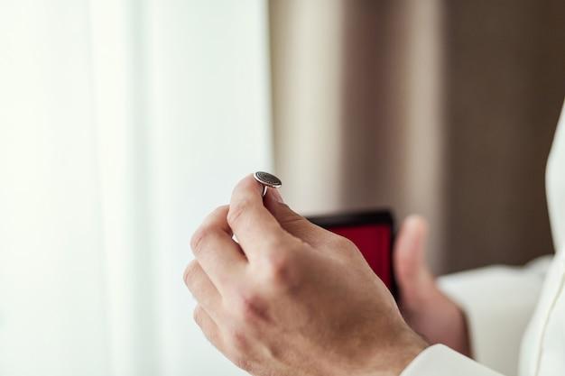 Запонки, жених утренний, бизнесмен, свадьба, мужская мода, мужские аксессуары