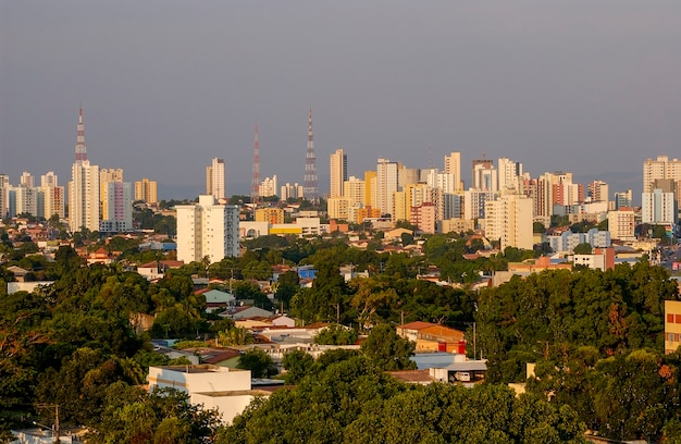 Cuiaba mato grosso state brazil important capital of the central west region of brazil