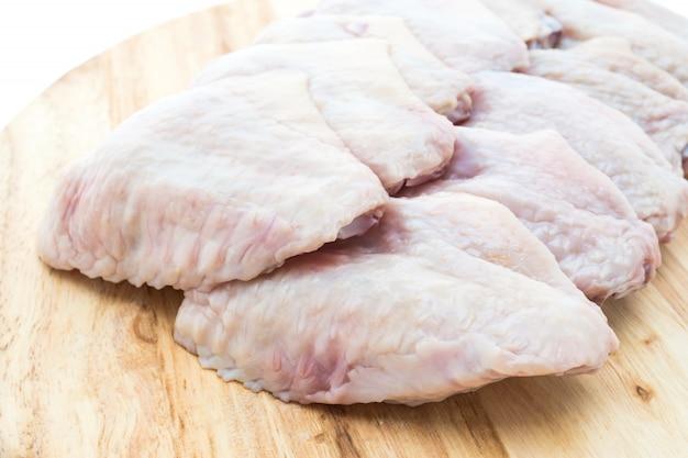 Proteine cuisine sfondo crudo